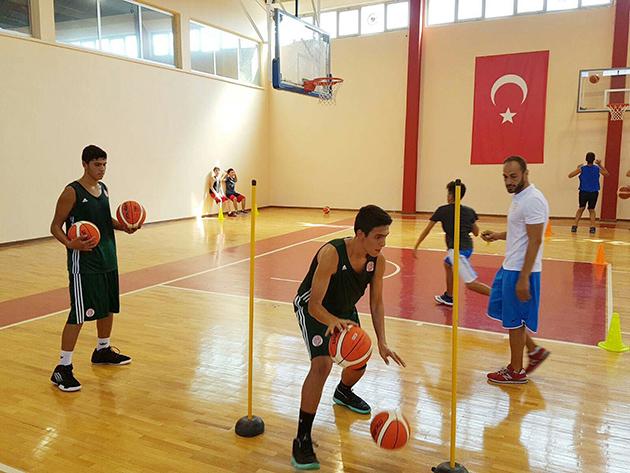Basketbol Okullarına Yoğun İlgi