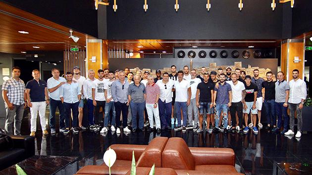 Antalyaspor'a Yemekli Uğurlama