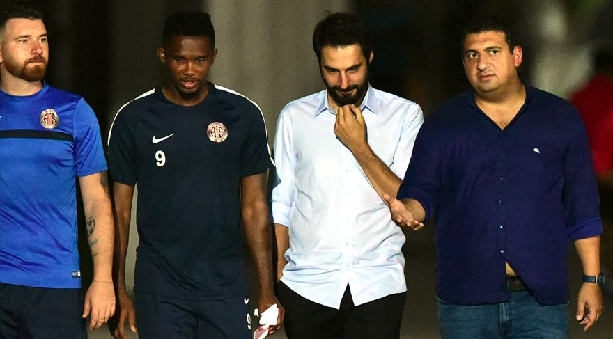 Ali Şafak Öztürk'ten Eto'o Açıklaması