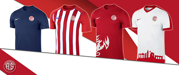 Antalyaspor'da Formalar Satışa Çıktı