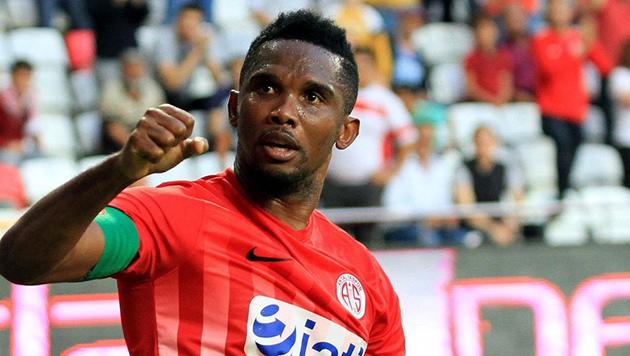 Eto'o Antalyaspor'dan Ayrıldı