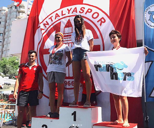 Açık Su Yüzme Yarışında Antalyaspor Başarısı