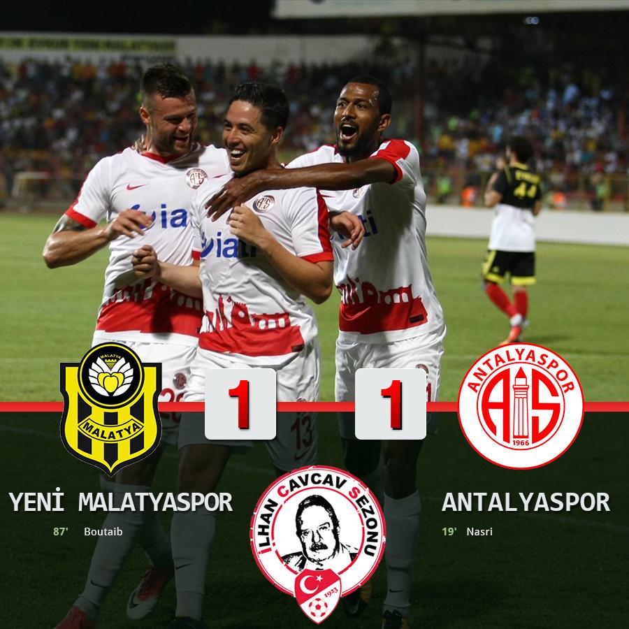 Antalyaspor'un Nefesi Yetmedi: 1-1