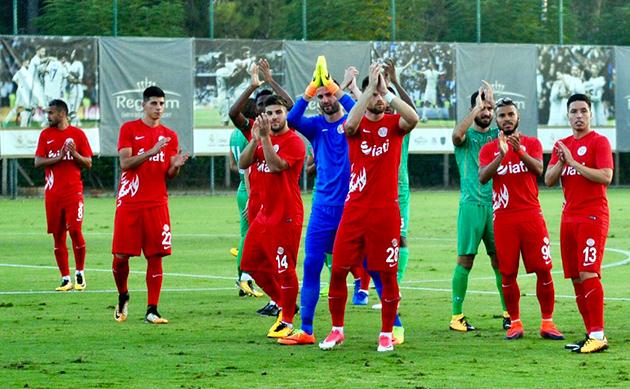 Antalyaspor Hazırlık Maçında Mağlup:0-1