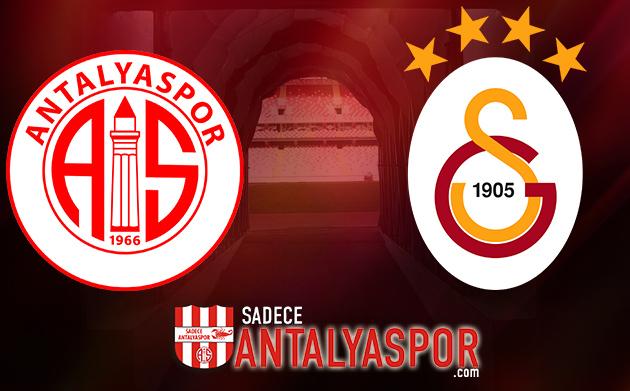 Antalyaspor – Galatasaray (KADROLAR)
