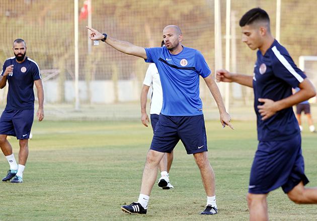 Antalyaspor'da Dört Eksik