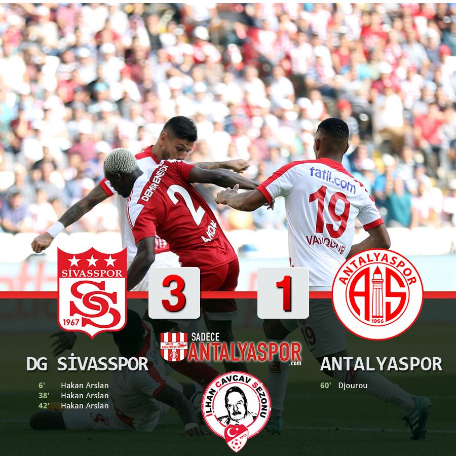 Sivasspor 3 – 1 Antalyaspor