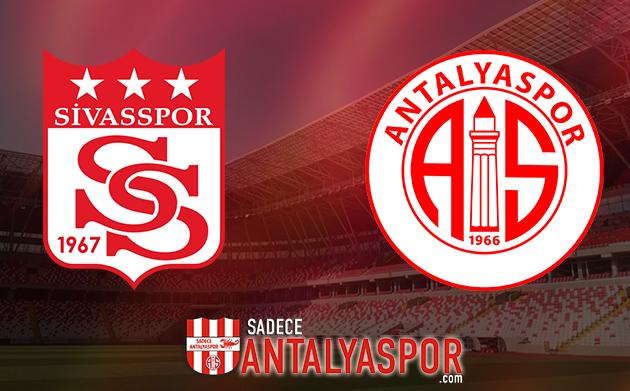 Sivasspor – Antalyaspor (KADROLAR)