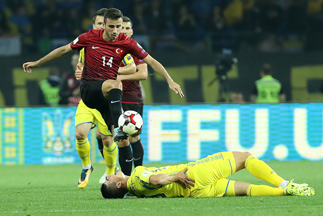 A Milli Takım Ukrayna'da Kaybetti:2-0