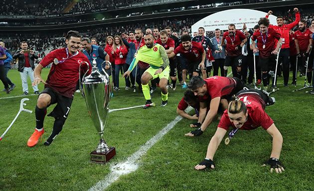 Ampute Milli Takım Avrupa Şampiyonu Oldu