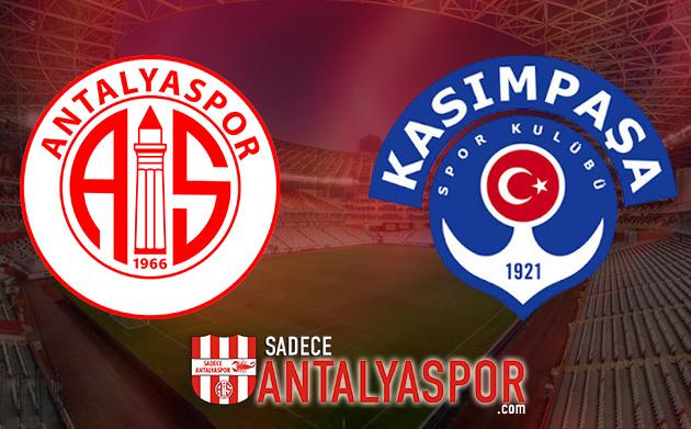 Antalyaspor – Kasımpaşa (İSTATİSTİKLER)