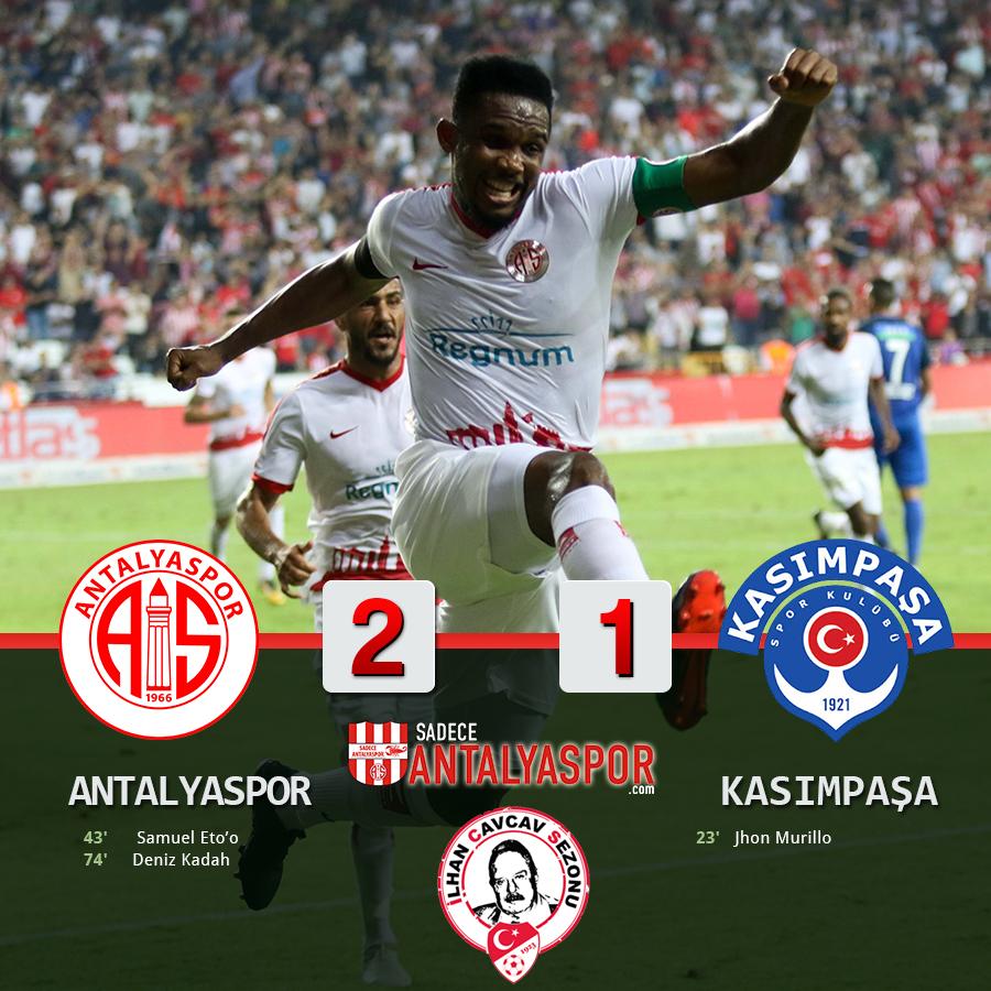 Antalyaspor 2 – 1 Kasımpaşa