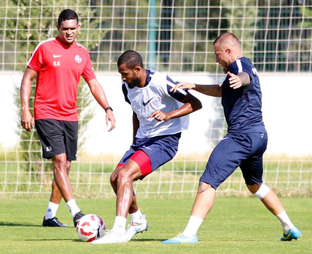 Antalyaspor'da Kupa Hazırlıkları Sürüyor