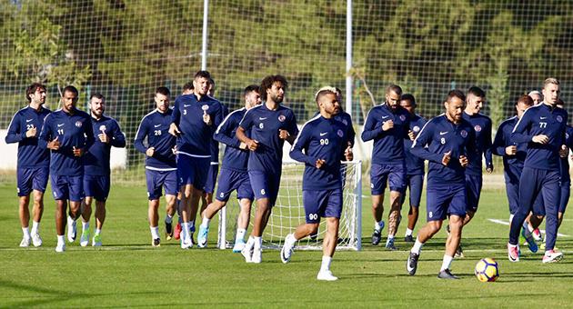 Karabükspor Maçının Hazırlıkları Başladı