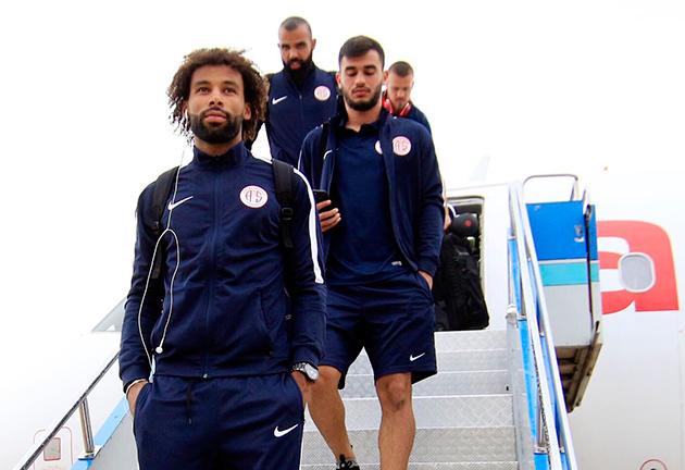 Antalyaspor Bursa'ya Ulaştı