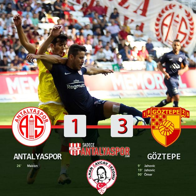 Antalyaspor 1 – 3 Göztepe