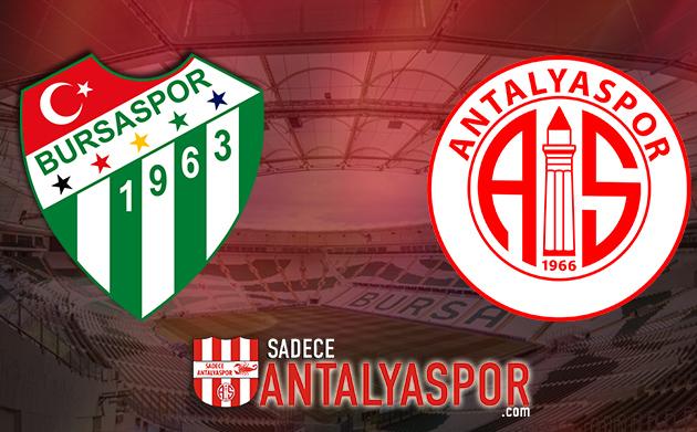 Bursaspor – Antalyaspor (İSTATİSTİK)