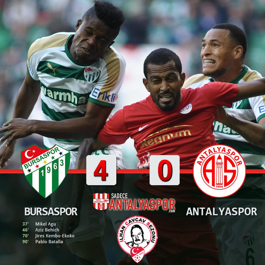Bursaspor 4 – 0 Antalyaspor