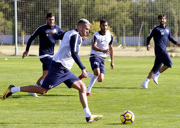 Konyaspor Maçının Hazırlıkları Devam Ediyor