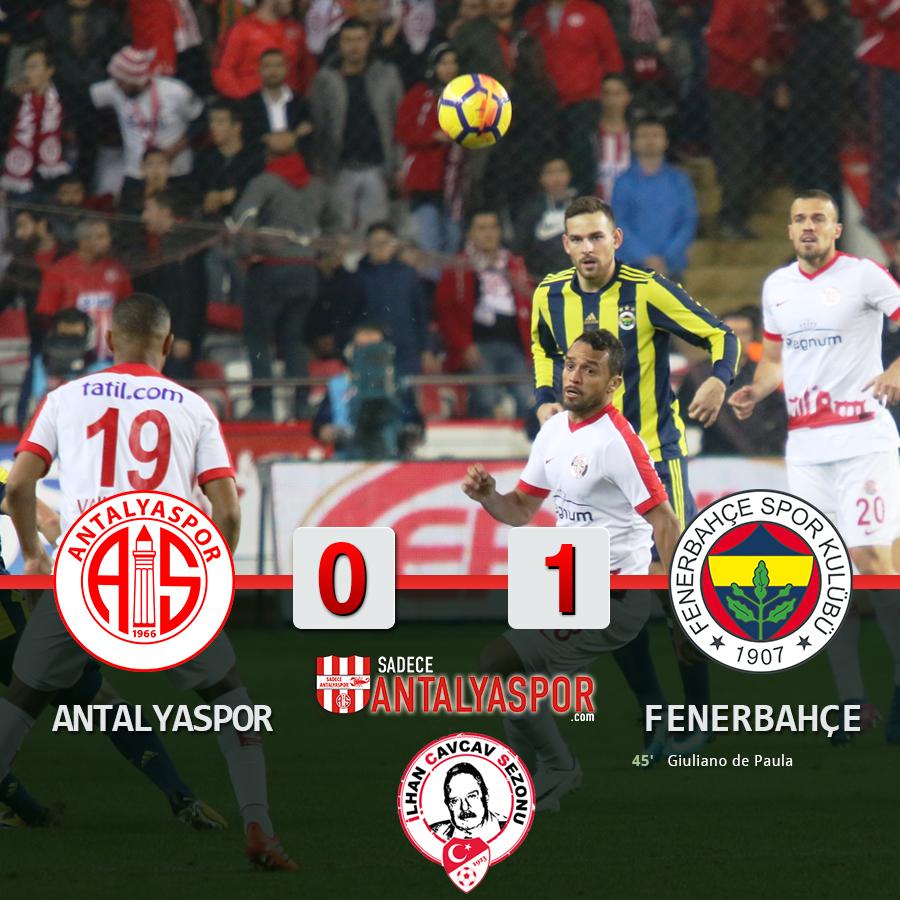 Antalyaspor 0 – 1 Fenerbahçe