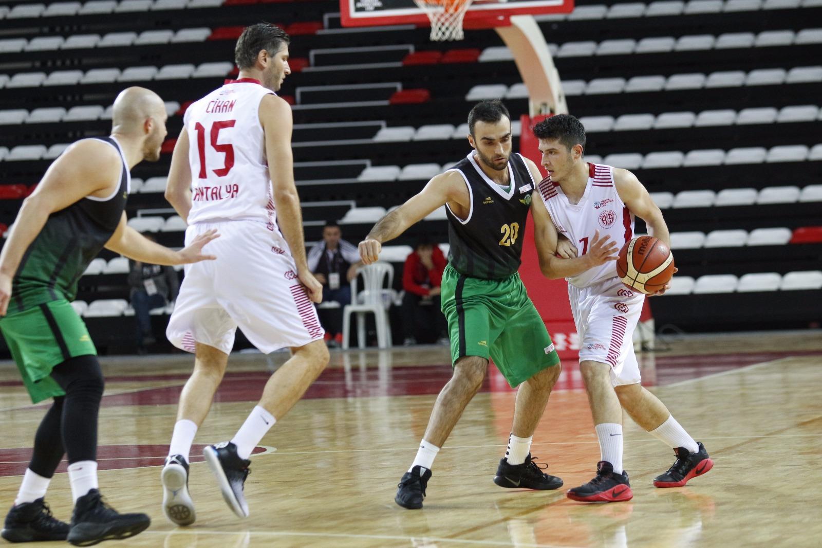 Antalyaspor 81 – 55 Akhisar Belediyespor