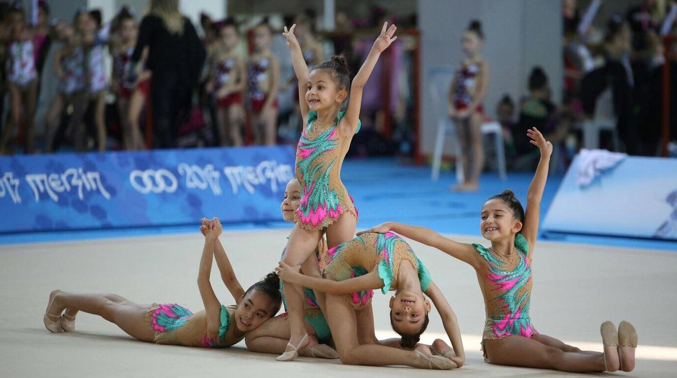 Antalyaspor Ritmik Cimnastik Takımı Bosna Hersek'te Yarışacak
