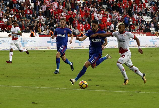 Antalyaspor İç Sahada Var Deplasmanda Kayıp