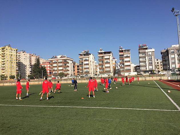 Kemerspor 2003, Ofspor Hazırlıklarını Sürdürdü