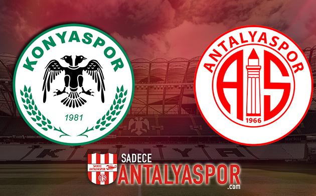 Konyaspor – Antalyaspor (KADROLAR)