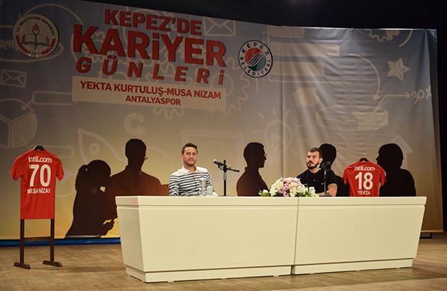 Yekta ve Musa Kepez Belediyesi'nin Konuğu Oldu