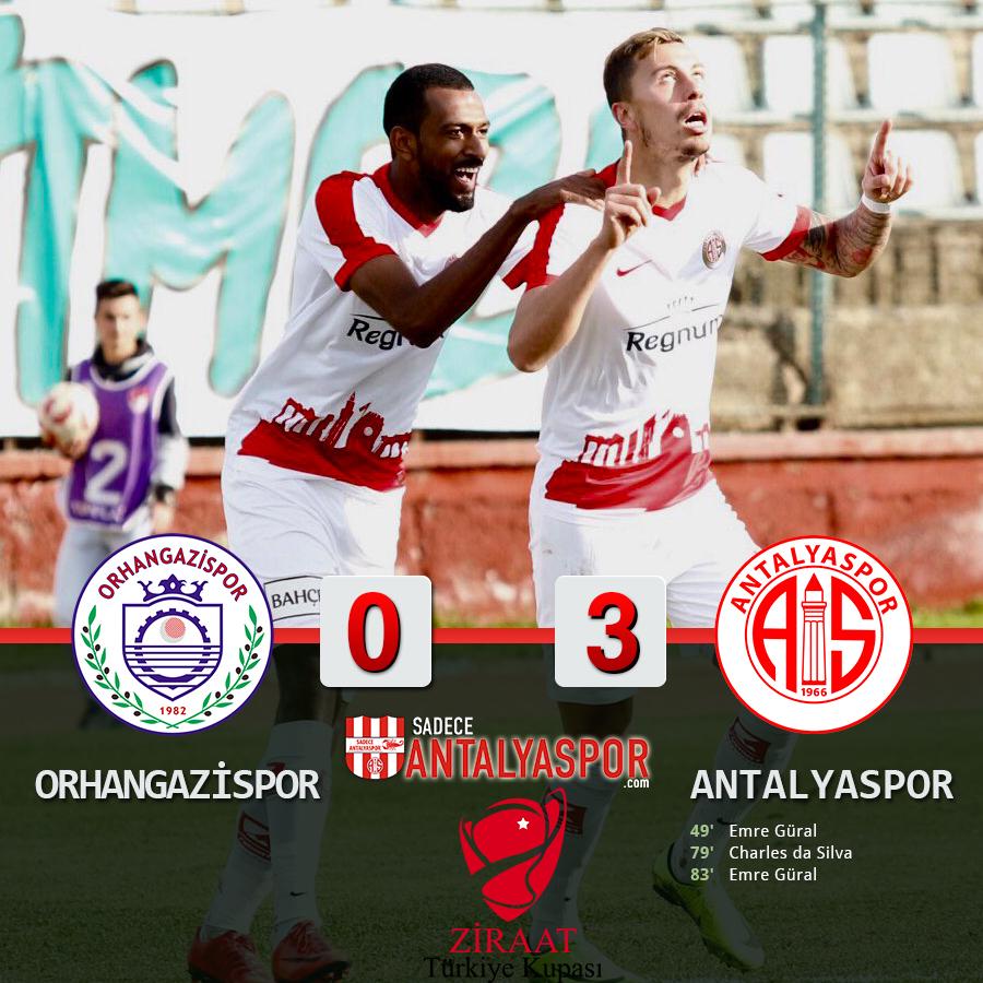 Orhangazi Belediyespor 0 – 3 Antalyaspor