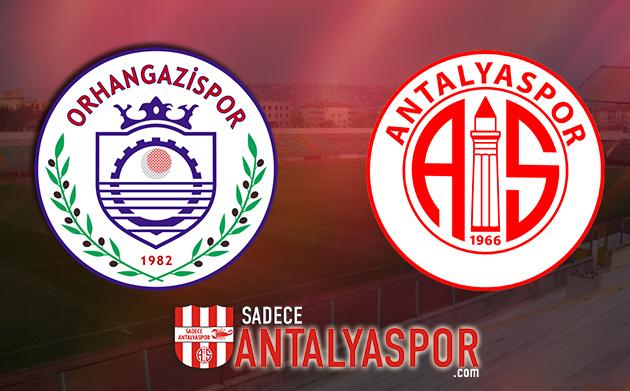 Orhangazi Belediyespor – Antalyaspor (KADROLAR)