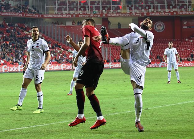 Türkiye 2 – 3 Arnavutluk