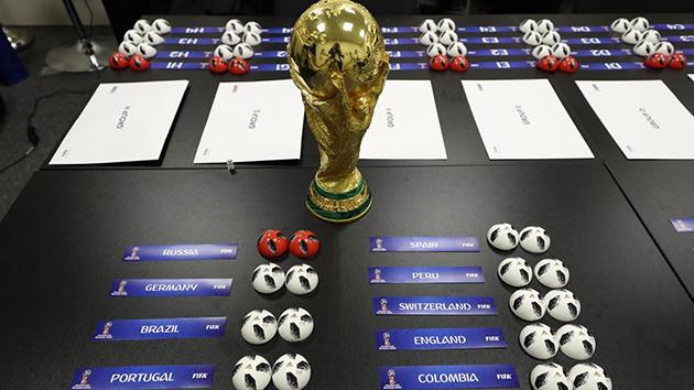 Dünya Kupası Grupları Belli Oldu