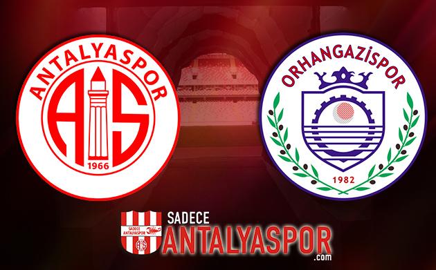 Antalyaspor – Orhangazi Belediyespor (İSTATİSTİK)