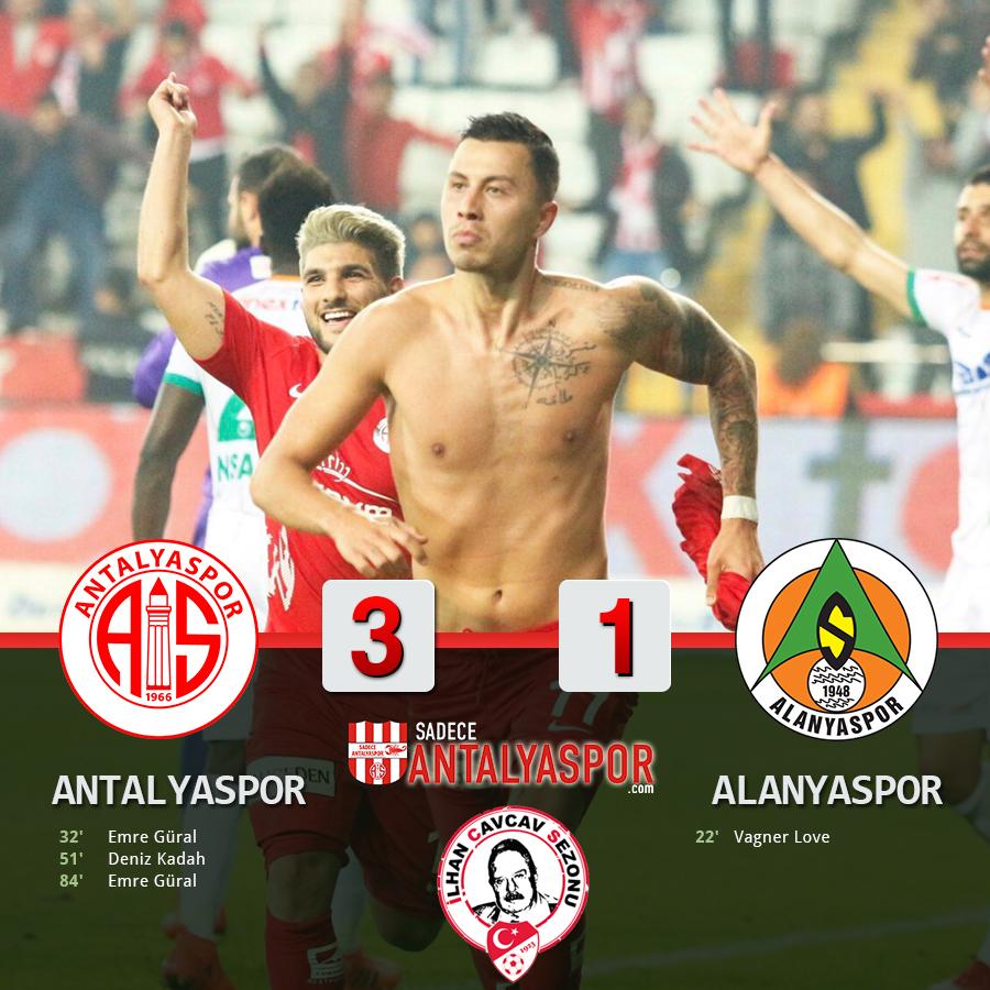 Antalyaspor 3 – 1 Alanyaspor