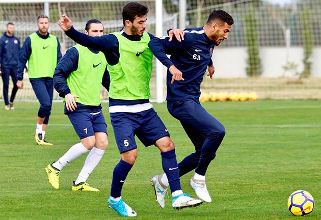 Antalyaspor Çalışmalarına Devam Ediyor