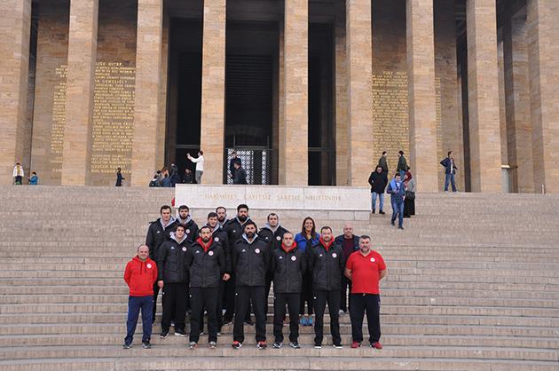Antalyaspor'dan Anıtkabir Ziyareti