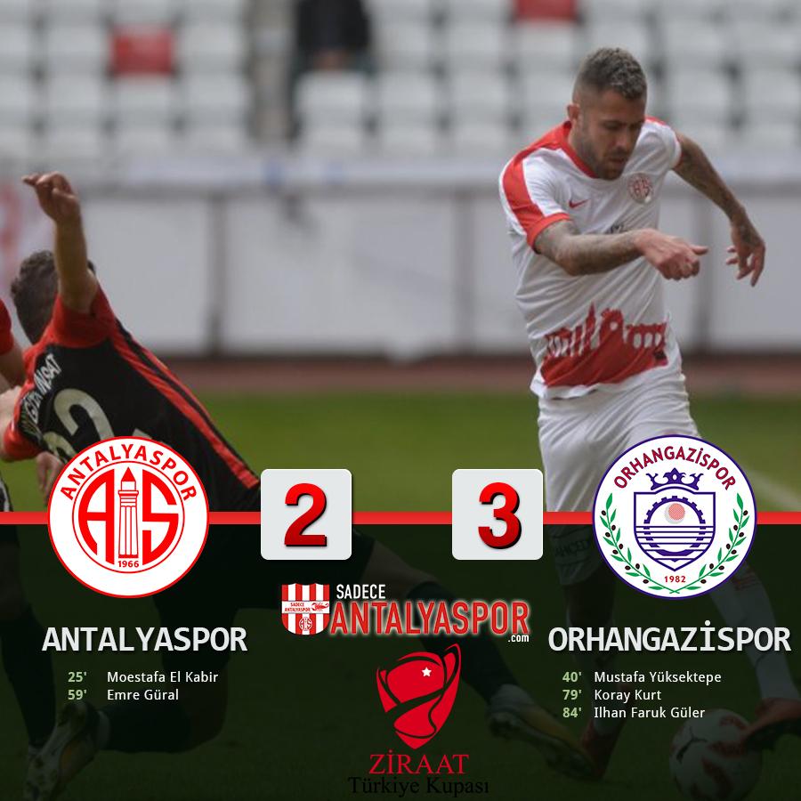 Antalyaspor 2 – 3 Orhangazi Belediyespor