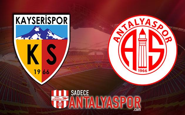 Kayserispor – Antalyaspor (İSTATİSTİK)