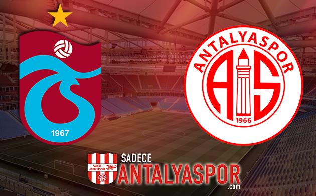 Trabzonspor – Antalyaspor (İSTATİSTİK)