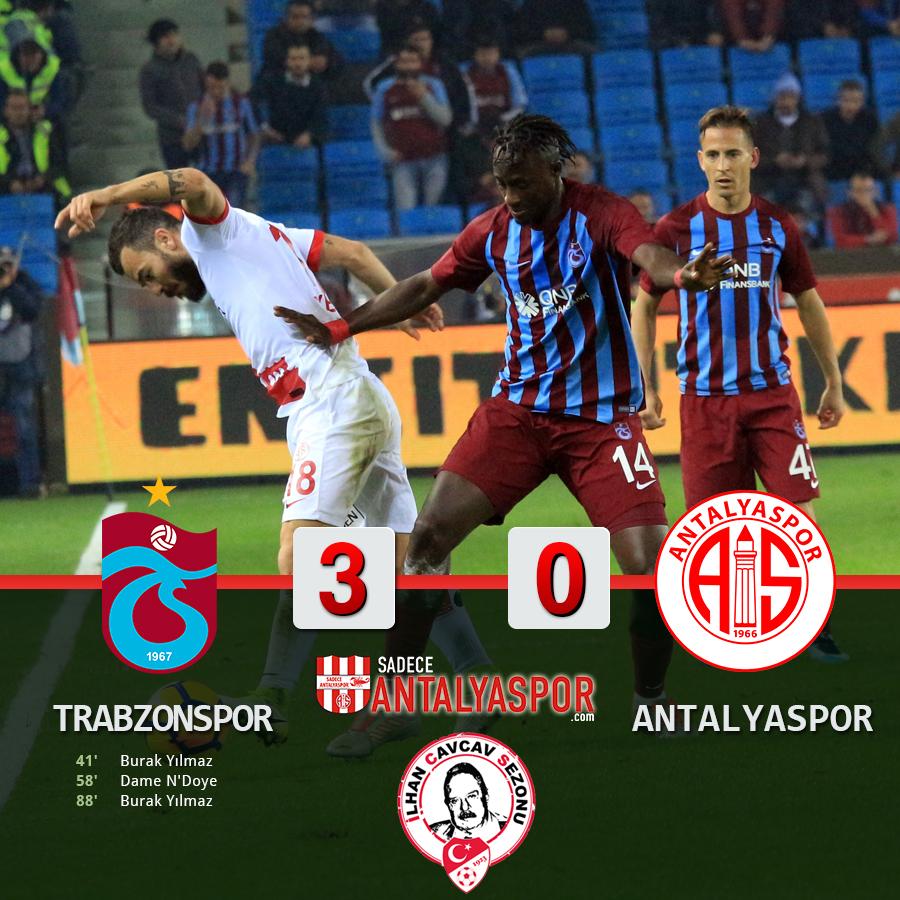 Trabzonspor 3 – 0 Antalyaspor
