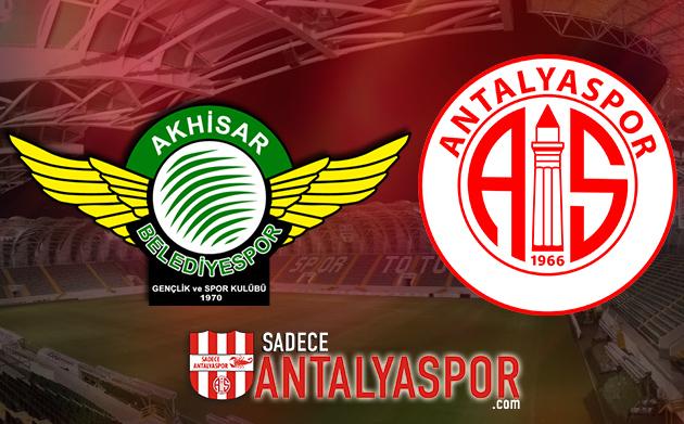 Akhisarspor – Antalyaspor (İSTATİSTİK)