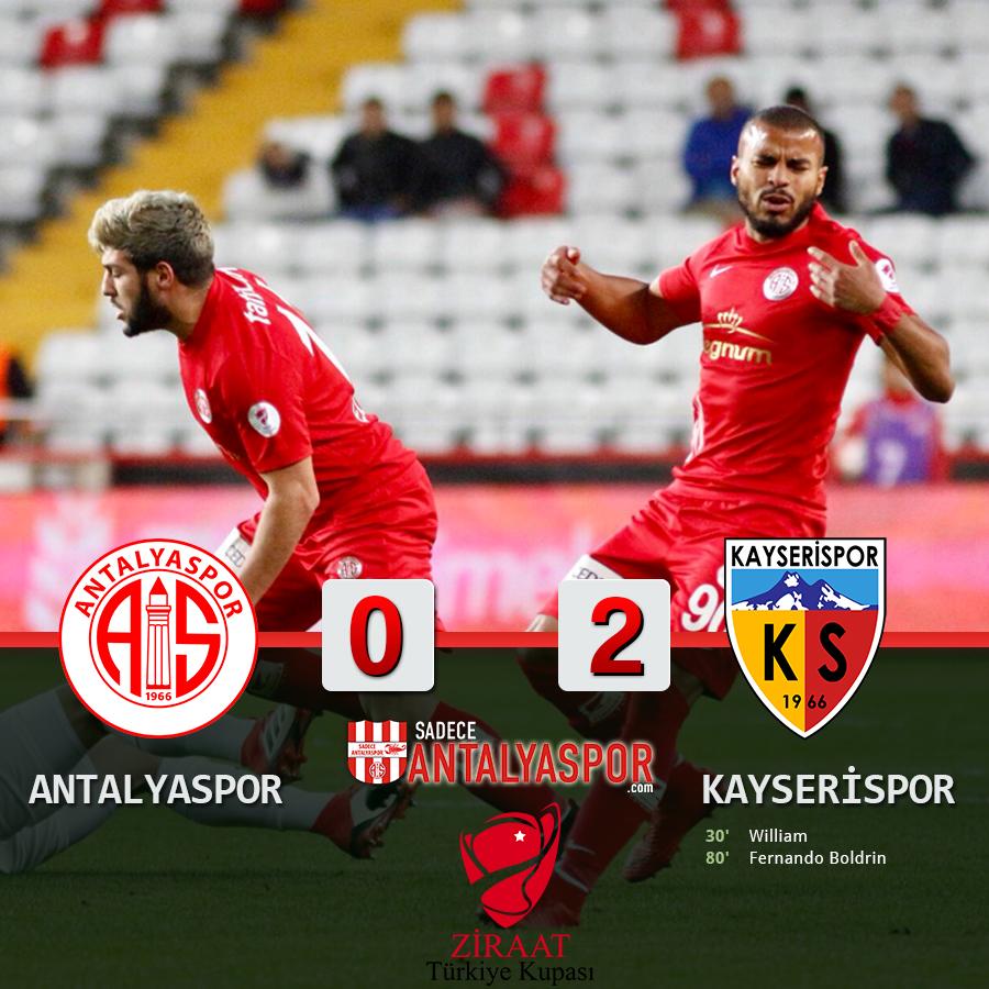 Antalyaspor 0 – 2 Kayserispor