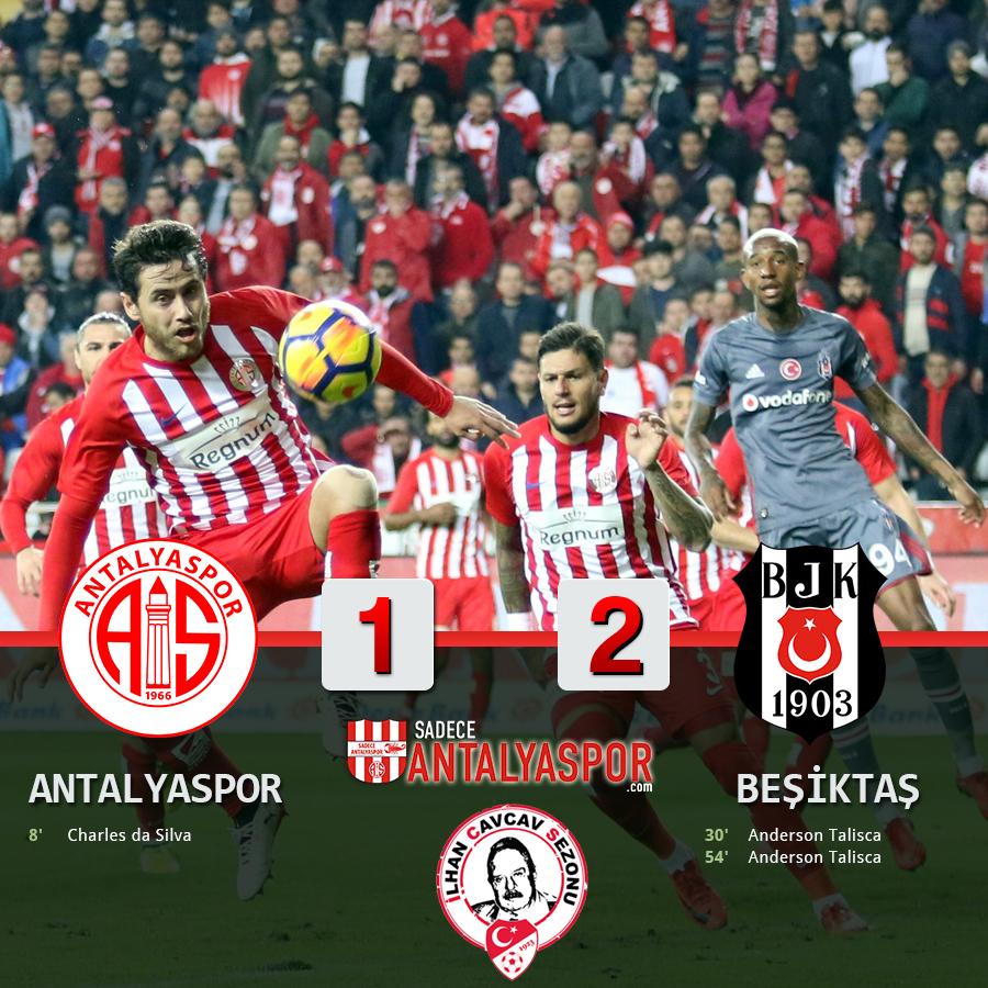 Antalyaspor 1 – 2 Beşiktaş