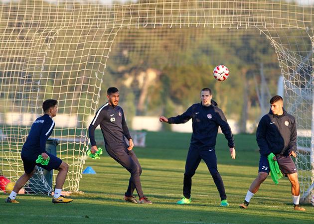 Antalyaspor Rövanş Hazırlıklarına Başladı