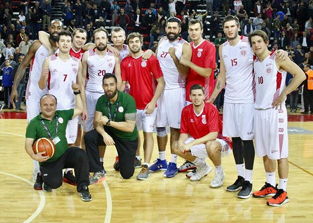 Antalyaspor 82 – 81 İstanbulspor Beylikdüzü