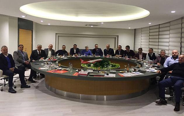 Antalyaspor Yönetim Kurulu Toplandı