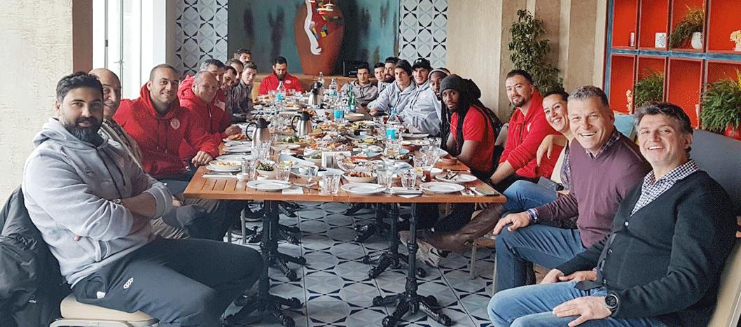 Antalyaspor'dan Moral Kahvaltısı