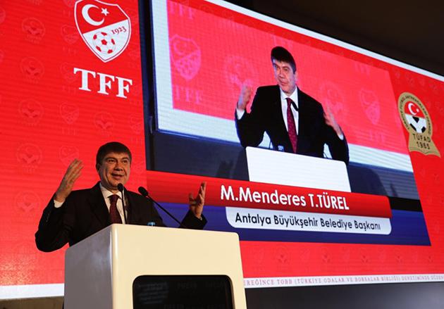 Antalyaspor Tesisleri'ne Ödül Geldi